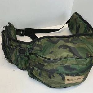 WINCHESTER WAIST PACK CAMO 7 Pockets for HUNTING